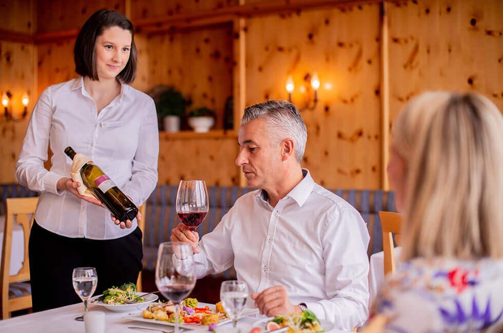 Genießen Sie regionale Leckereien in unserem Restaurant