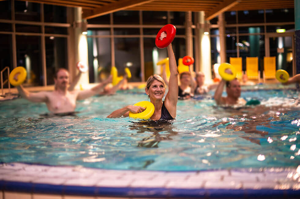 Aquagymnastik hält fit und gesund