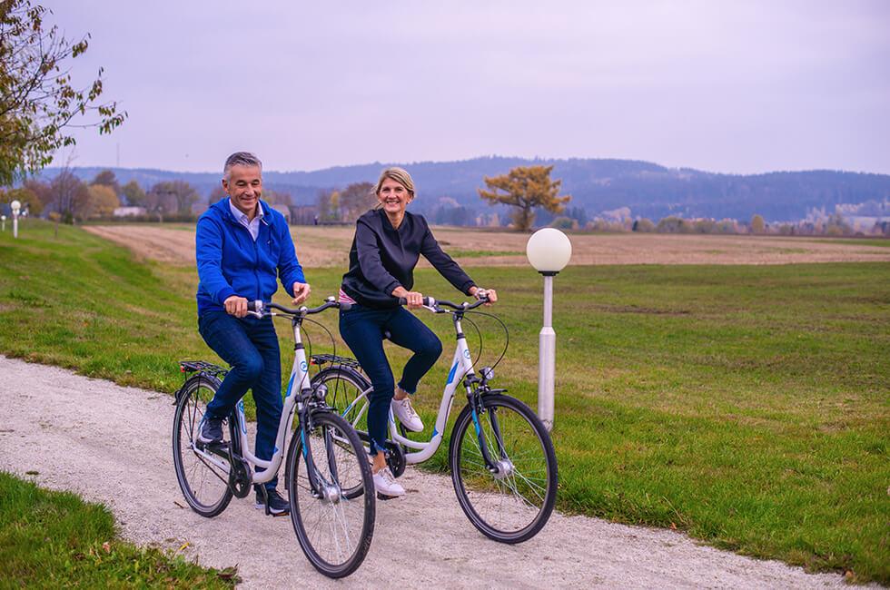 In Bewegung bleiben mit einer Radtour um Weißenstadt