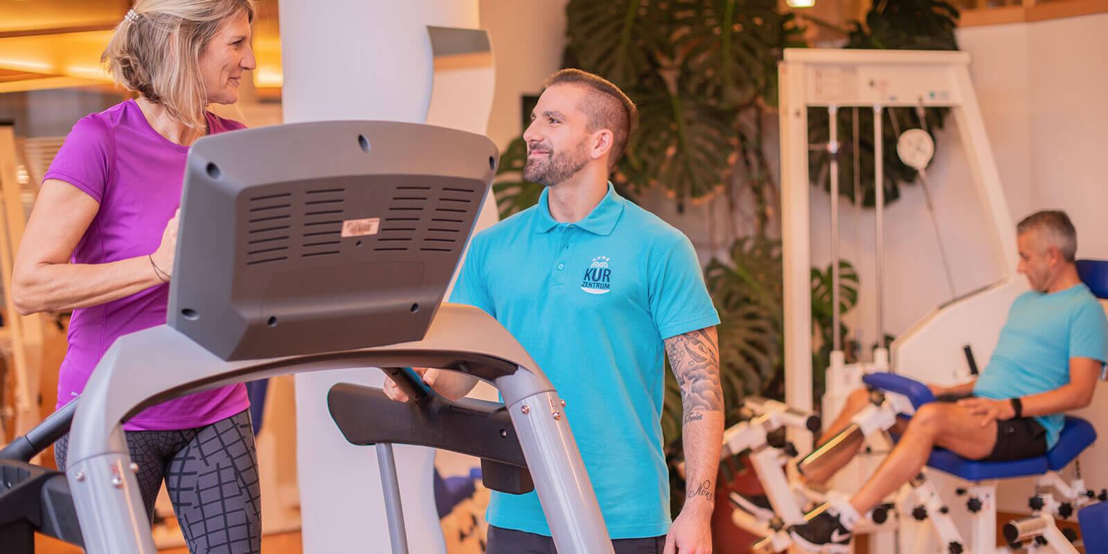Körperliche Fitness und Gesundheit durch Ausdauertraining während Ihres Gesundheitsurlaubs