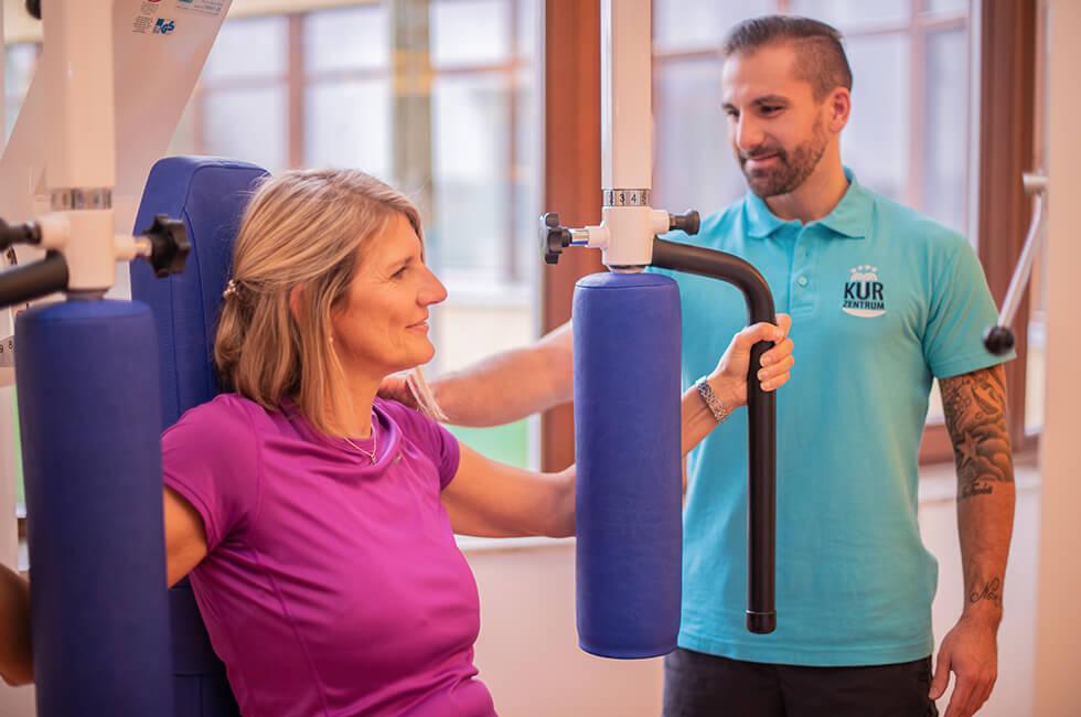 Gerätegymnastik für Fitness, Ausdauer und Kraft