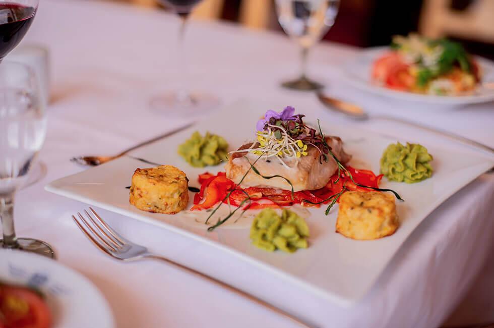 Leichte Kulinarik im Vier-Sterne Hotel