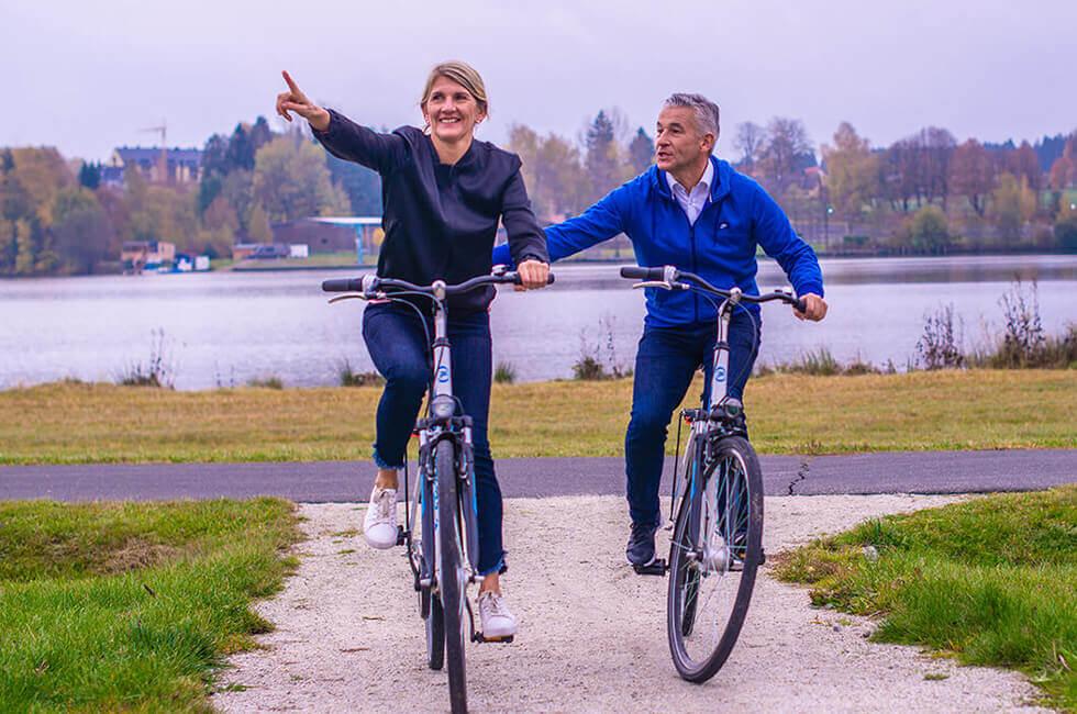 Mit dem Rad im Urlaub aktiv sein und in Bewegung bleiben