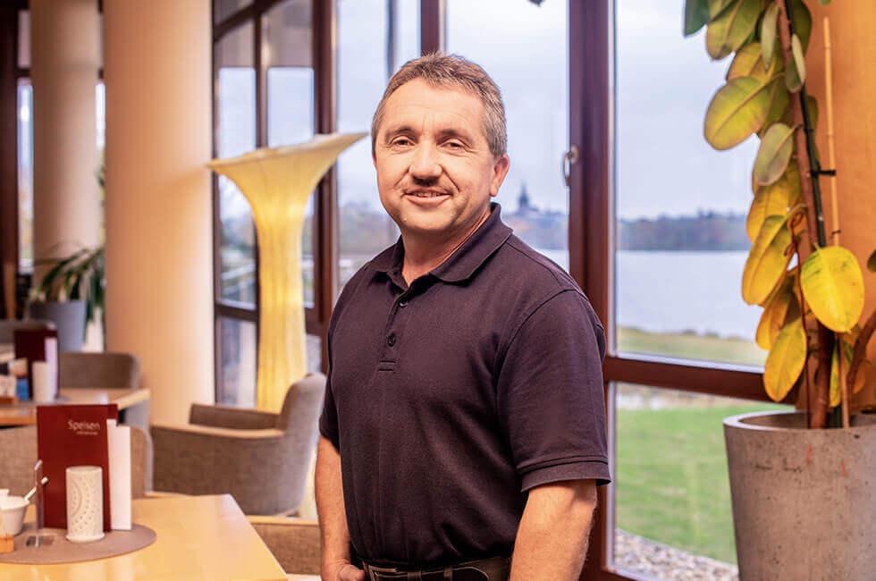 Kurzentrum Weissenstadt – Haustechniker Stefan Hauswurz