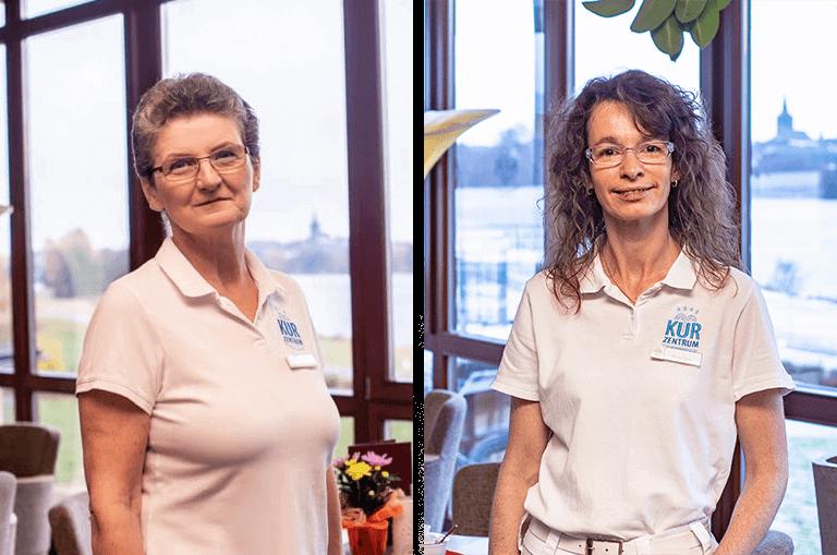 Kurzentrum Weissenstadt – Hausdamen Christine Bose und Bärbel Moller