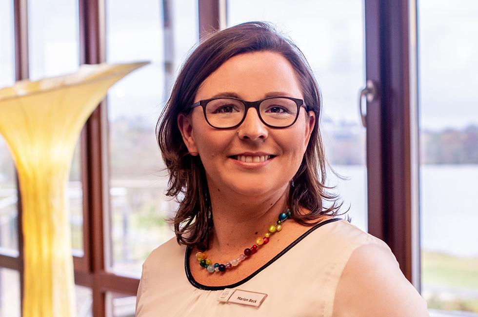 Kurzentrum Weissenstadt –Rezeptionsleiterin Marion Beck
