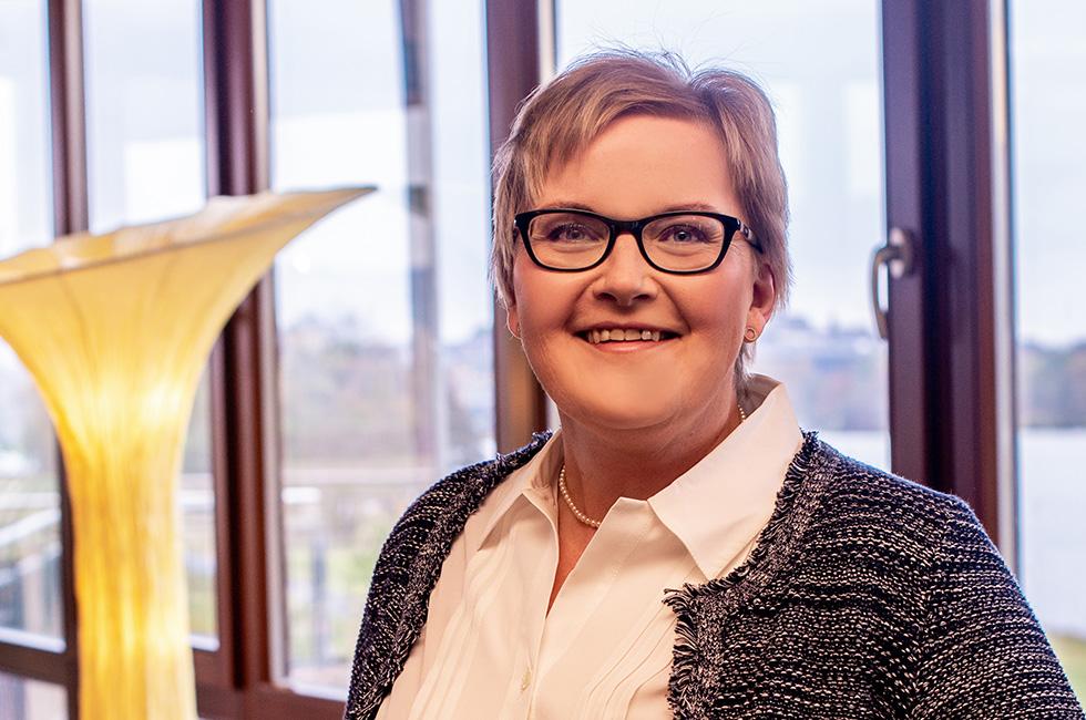Kurzentrum Weissenstadt –Direktionsassistentin Melanie Gerlinger