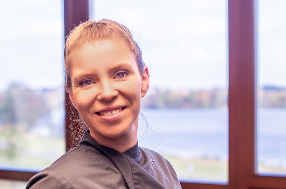 Kurzentrum Weissenstadt –Küchenchefin Madeleine Sandner