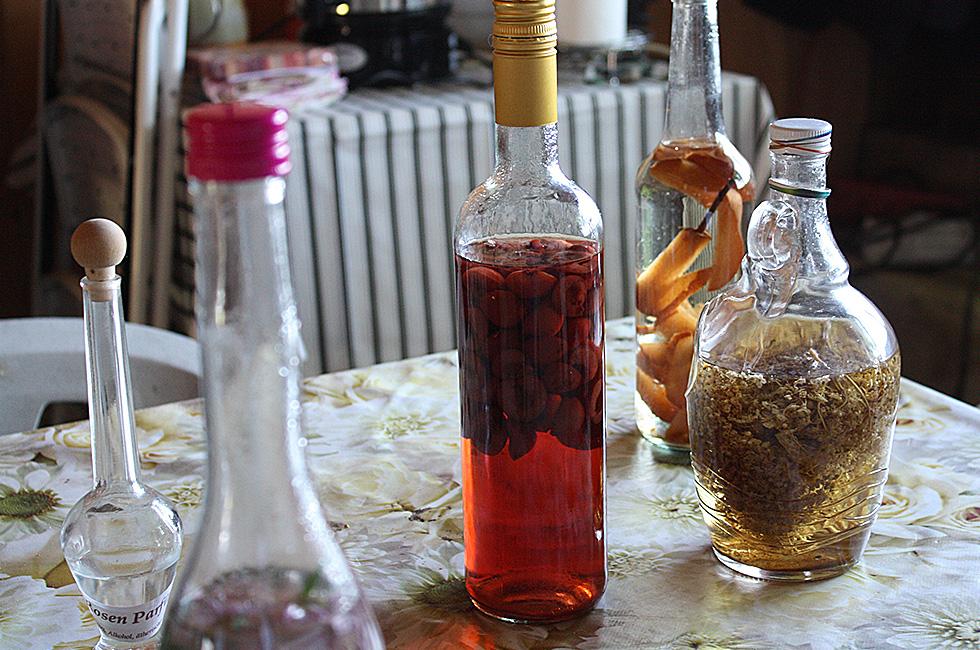 Essig/Öle/Fruchtgetränke