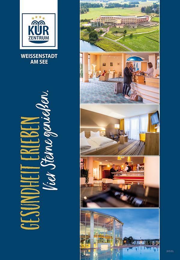 Hotelbroschüre Kurzentrum Weissenstadt am See 2021
